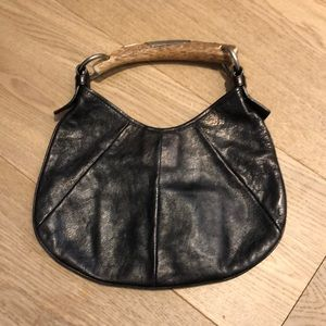 Yves Saint Laurent Mombasa Leather Bag